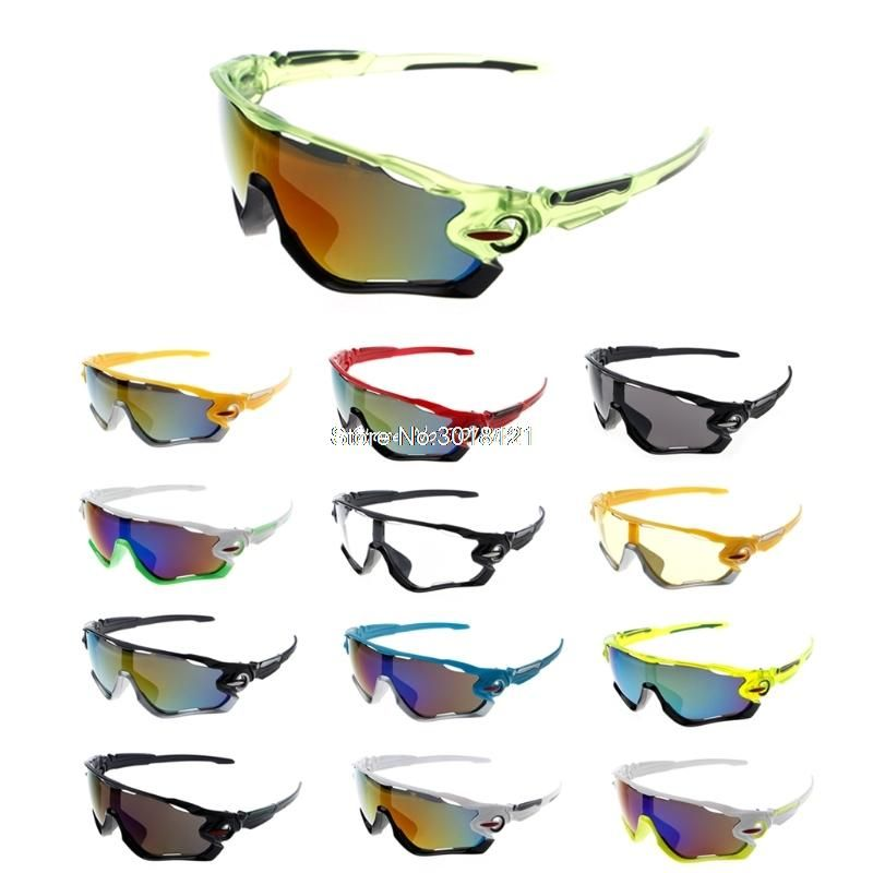 Polarized Cycling Sunglasses Eyewear Sports Glasses Outdoor  Bike Goggles 5 Lens