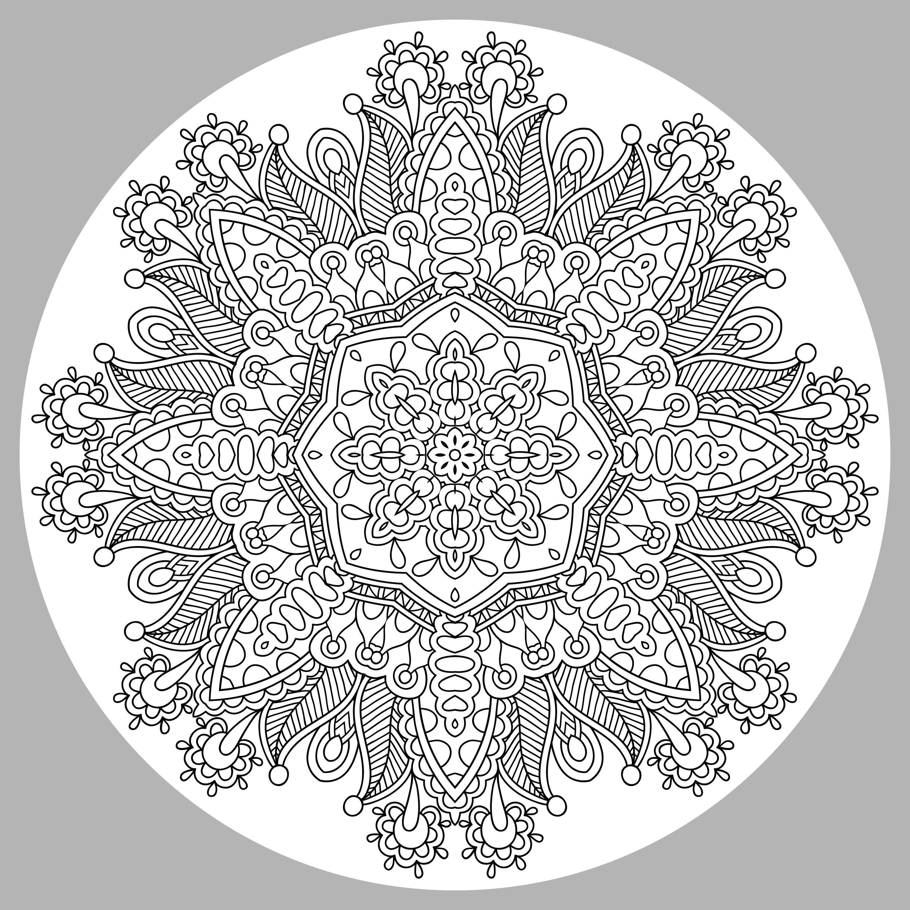 free mandalas page «coloring-mandala-complex-by-karakotsya-1