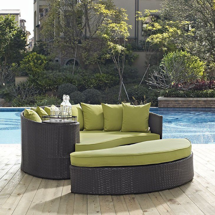 Unique Outdoor Patio Day Bed Daybed With Pillows