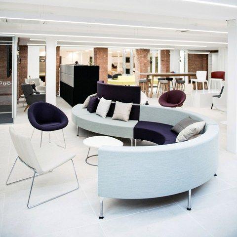 stylish office waiting room furniture. Modern, Stylish, Curved Modular Seating For A Waiting Room Or Reception Www.jbhrefurbishments Stylish Office Furniture
