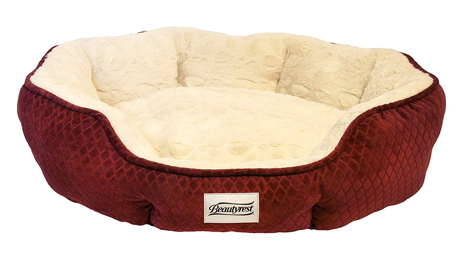 Beautyrest Subtle Seat Diamond Dog Bed >>> Details can be