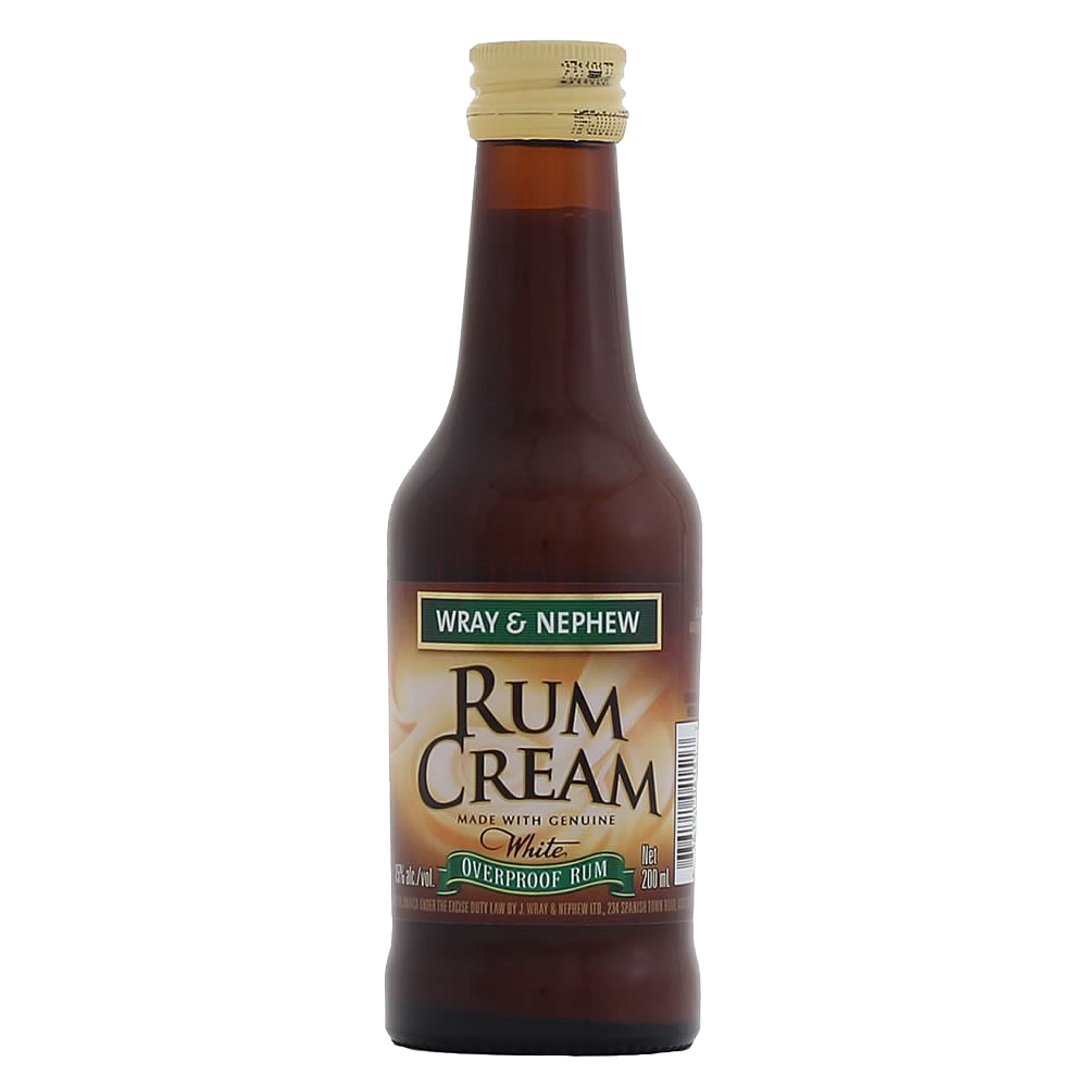Wray & Nephews Rum Cream Miniatures (Mini Bar)