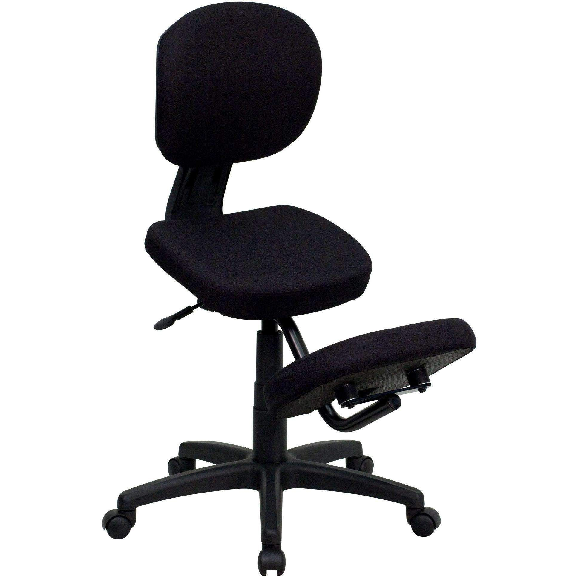 Mobile Ergonomic Kneeling Posture Task Chair with Back in 2019