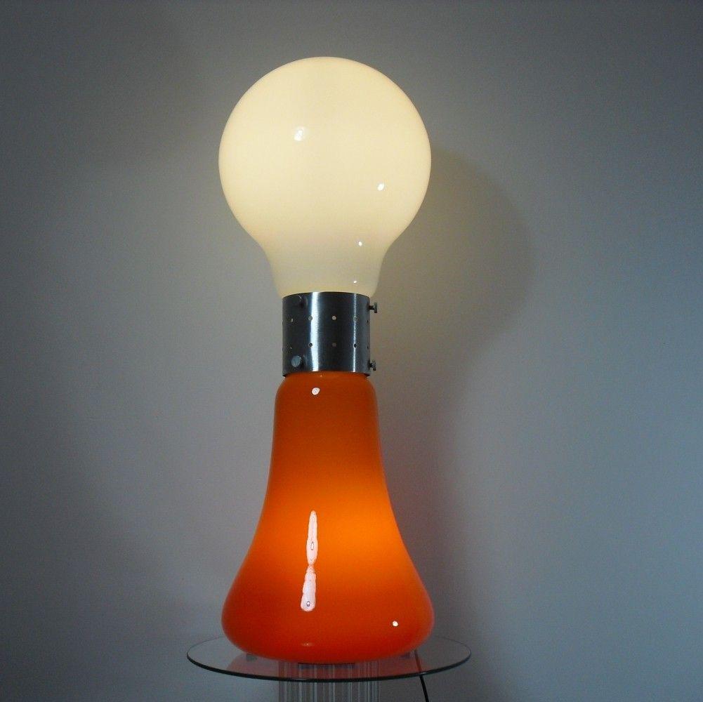 Space Age Birillo Floor Lamp By Carlo Nason For Mazzega 1970 S 92311 In 2020 Floor Lamp Lamp Lamp Design