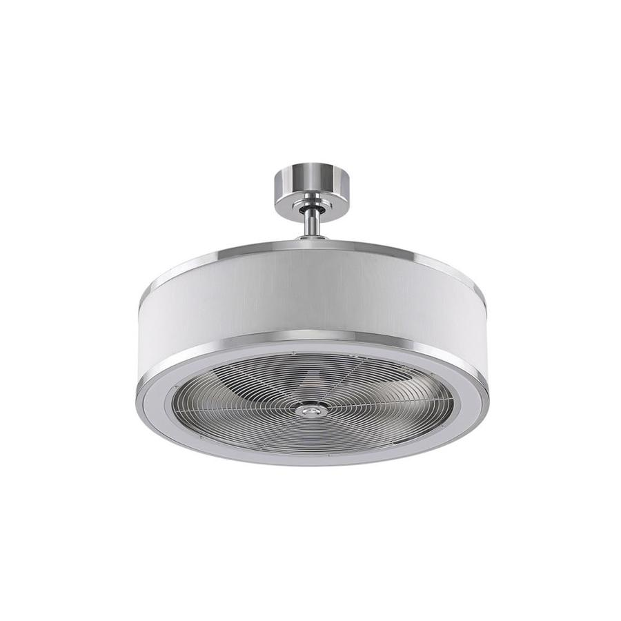 Fanimation Studio Collection Ringaire 23 In Chrome Led Indoor