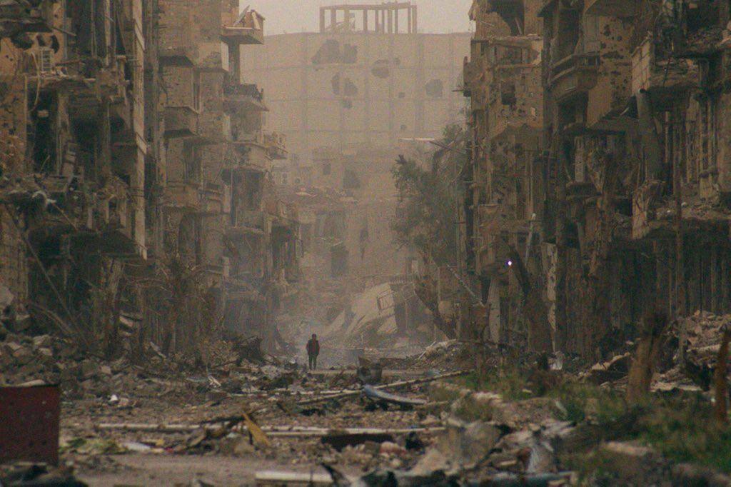 """Martin Oswald on Twitter: """"Bald hat #Assad #Syrien wieder unter seiner Kontrolle. Nur ist dann längst alles zerstört und keiner mehr da. https://t.co/EutT5VWfDE"""""""
