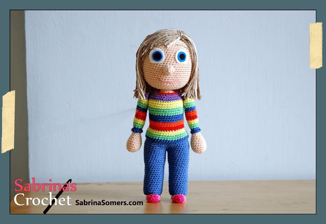 Amigurumi Crochet Personajes : Personaje amigurumi riley de disney del revés inside out cm