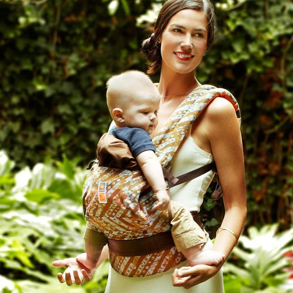 Christy Turlington Burns' Ergobaby design, created to benefit Every Mother Counts, her non-profit dedicated to maternal health worldwide - http://store.ergobaby.com/every_mother_counts.html