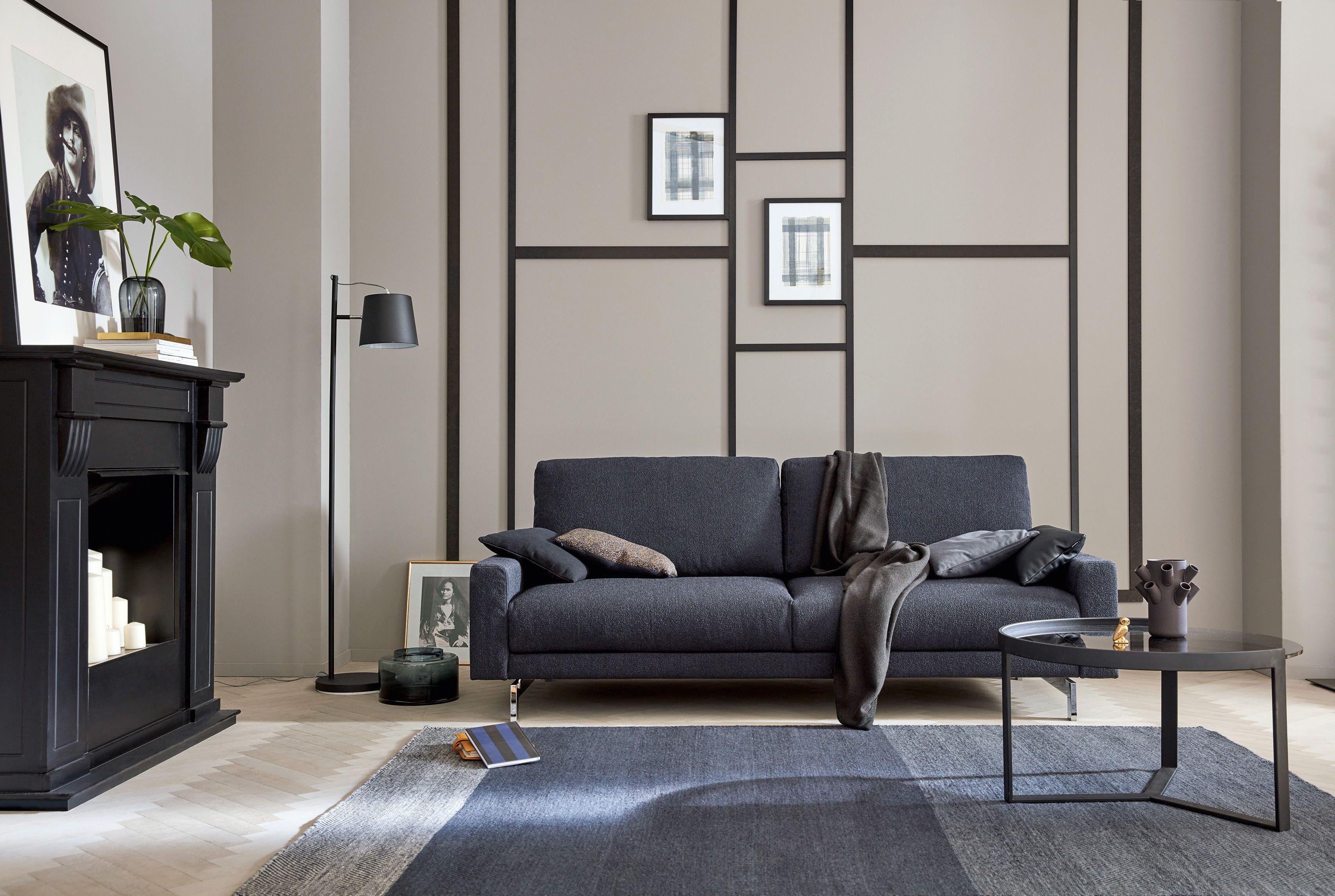 Hülsta Sofa Hs.450 Individuelles Sofa Programm Zur Konfiguration /  Seitenteil Schmal Niedrig / Stoff