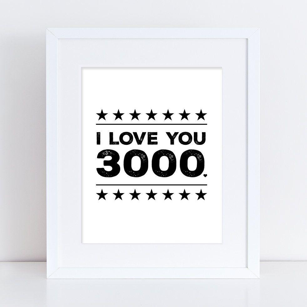 i love you 3000 printable printable