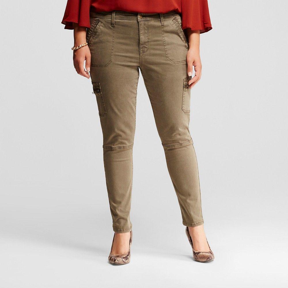 60d84f4632e Fashion Bug Women s Plus Size Cargo Pants