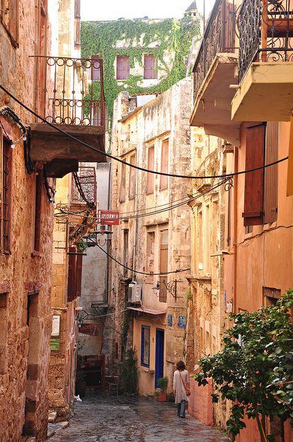 Chania alleyway