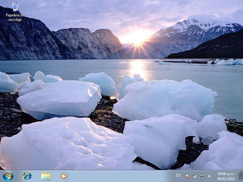 Asi Quedo Windows 7 Instalado Listo Para Presentarlo Al Profesor Paisajes Fondos De Pantalla Naturaleza Paisaje Invernal
