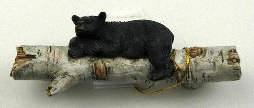 Bear on Birch Log Drawer Handle   Furniture handles ...