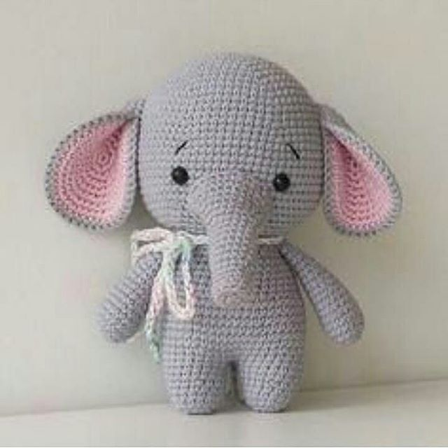 Free Animal Amigurumi Crochet Patterns - Amigurumi #crochetelephantpattern