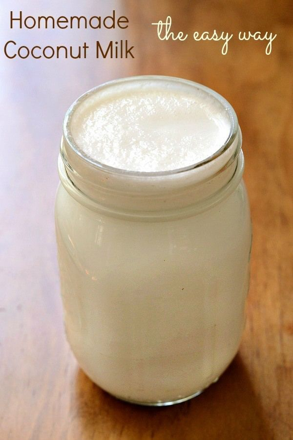 Learning how to make coconut milk is a great way to save money and control the ingredients in your non-dairy milk. You can save over $200 a year with this easy recipe!