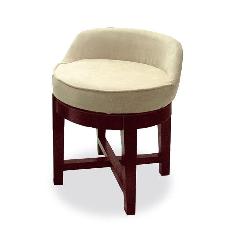 Swivel Upholstered Vanity Chair   $80.39 @hayneedle.com