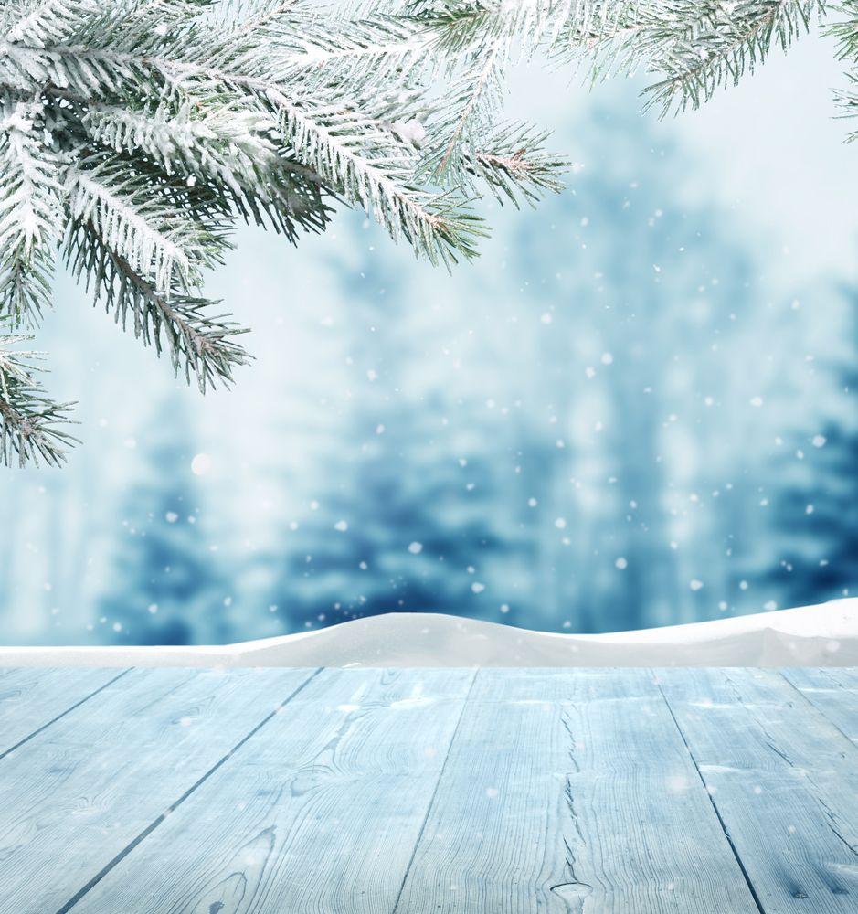 Winter Wallpaper: Snowy Photography To Set Your Christmas Spirit