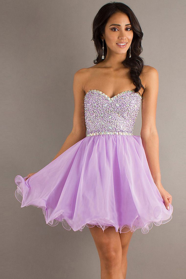 homecoming dresses a line shortmini sweetheart chiffon with