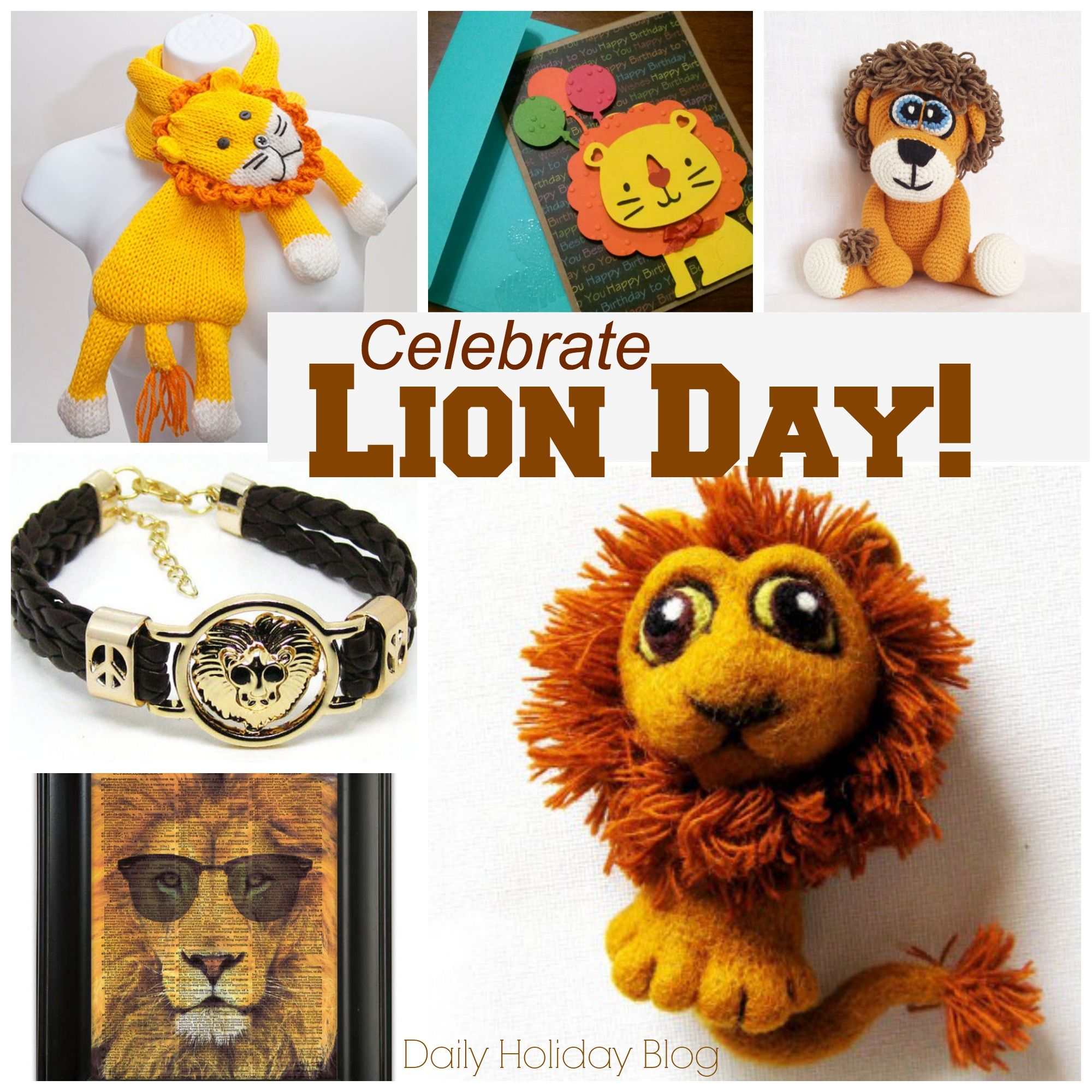 Celebrate Lion Day Fun Facts And Ts From Etsy