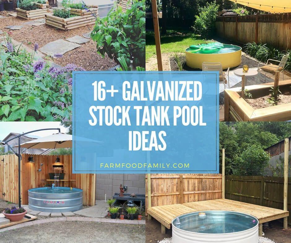 16 best galvanized stock tank pool ideas designs for