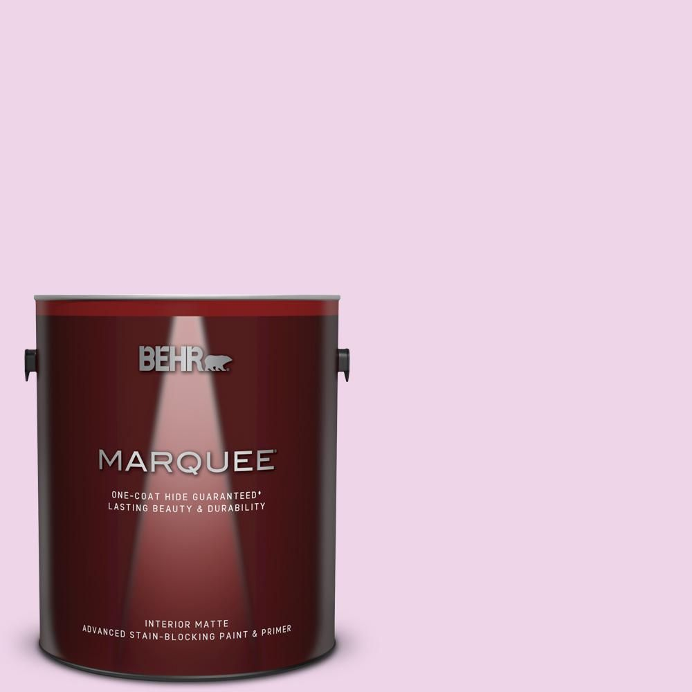 Behr Marquee 1 Gal P110 1 All Made Up Matte Interior Paint And