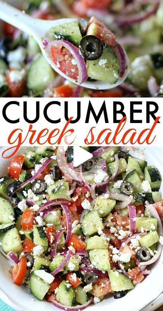 Gurke Griechischer Salat