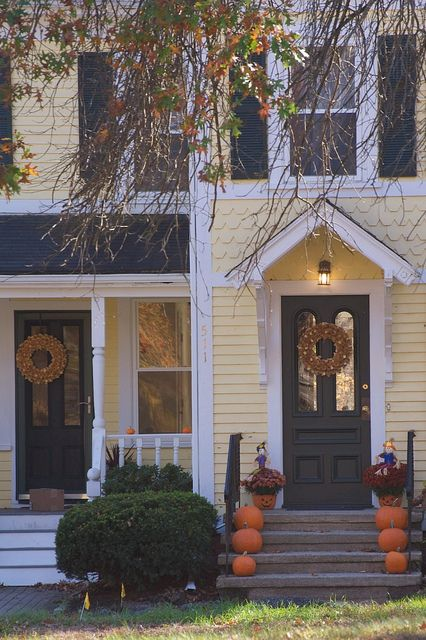 Events With Images Front Porch Decorating Autumn Home Porch