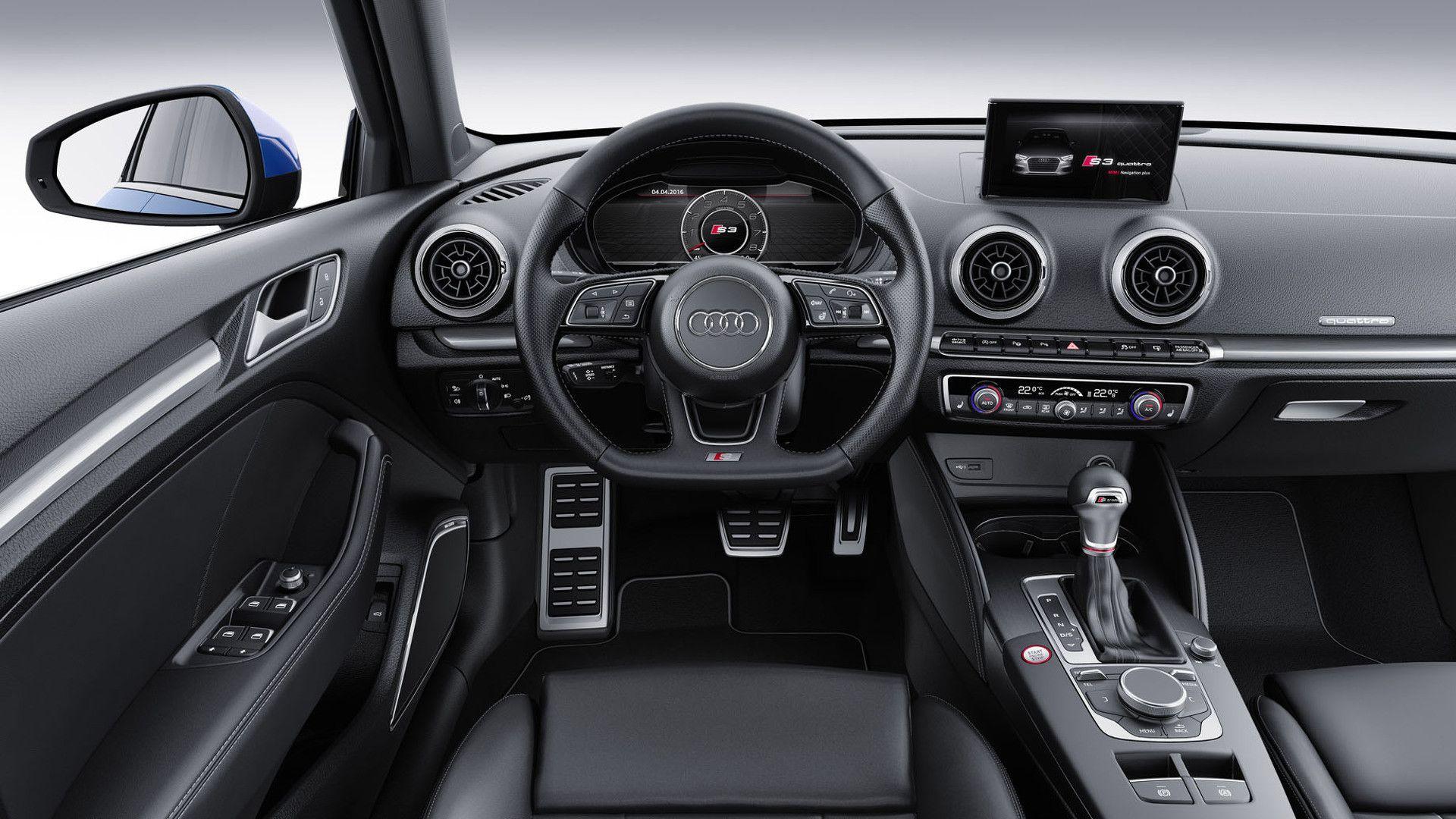 S3 Dashboard 2016 2017 Audi A3 Sedan Audi A3 Sedan
