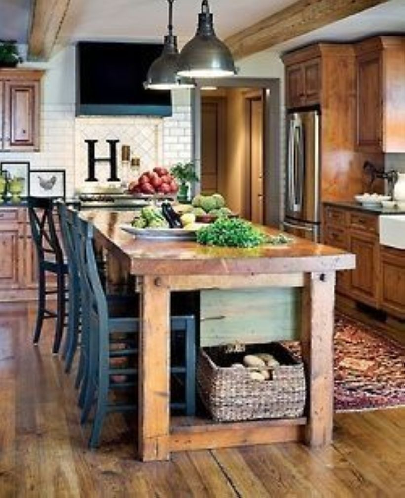 44 incredible rustic farmhouse kitchen ideas with
