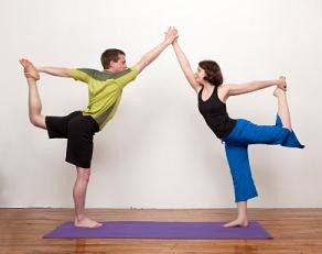 double dancers  partner yoga  pinterest  partner yoga