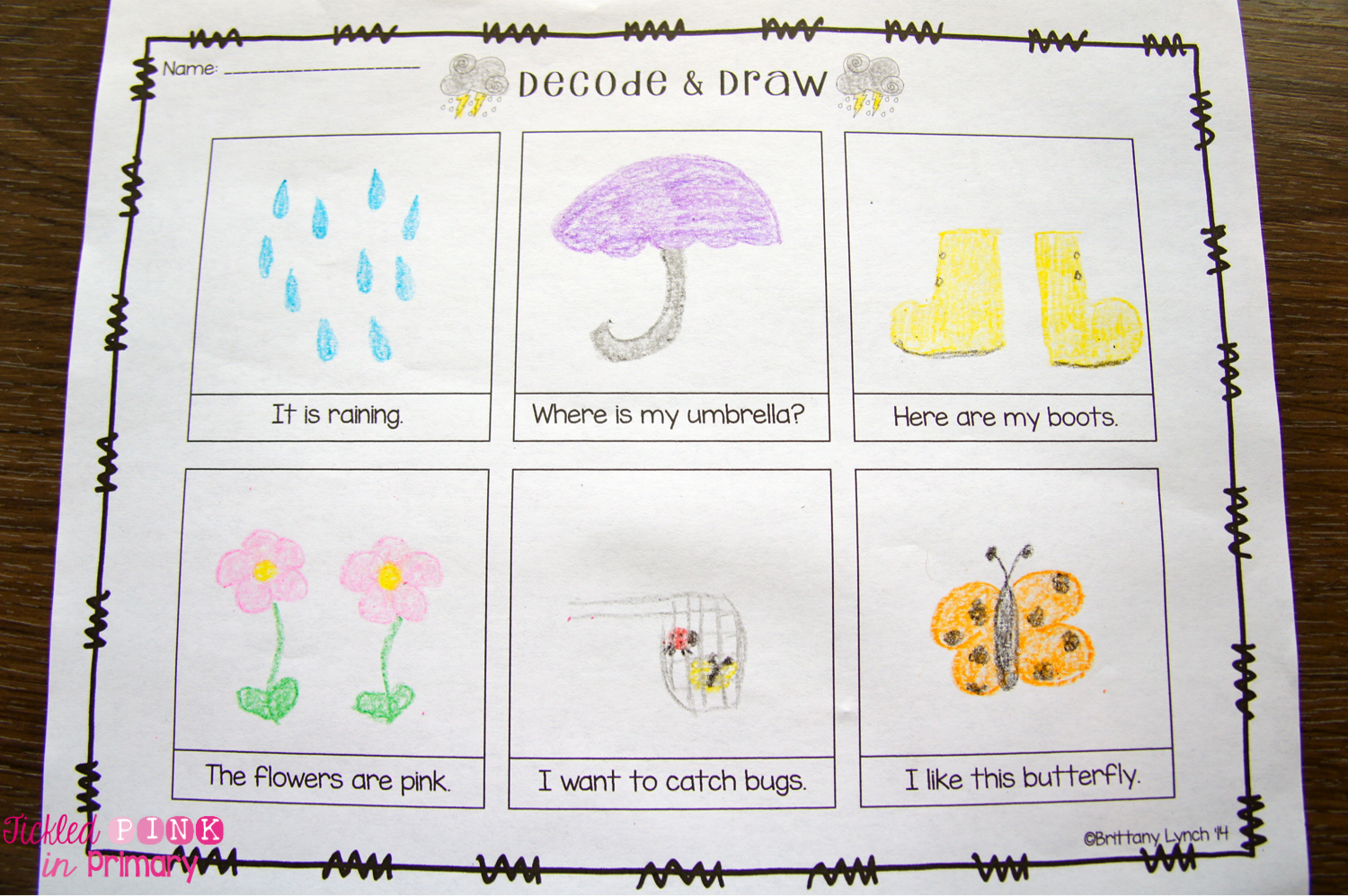 Simple Comprehension Worksheets For Beginning Readers