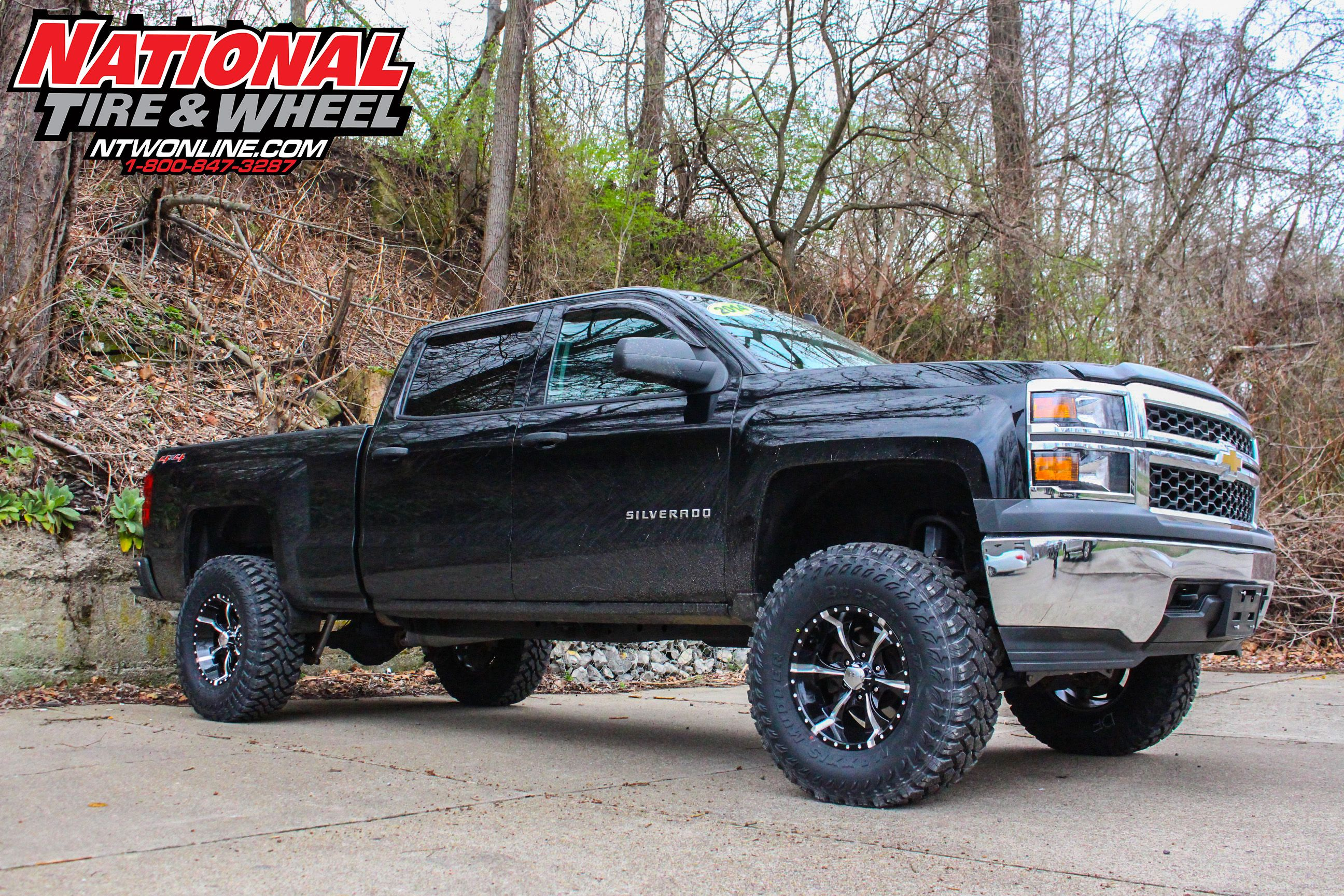 Ntw Install This 2015 Chevy 1500 Received A 7 5in Rough Country