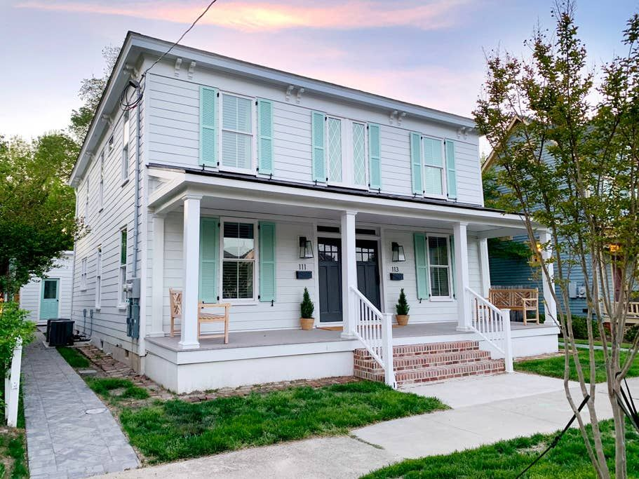 Doublemint duplex left side houses for rent in cape