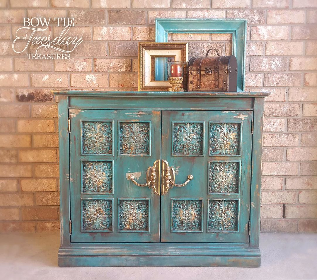 Becca—Console-Cabinet - Bow Tie Tuesday Treasures