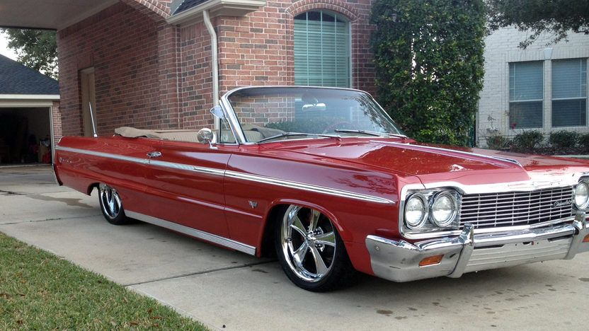 1964 Chevrolet Impala Ss Convertible Presented As Lot S69 At Houston Tx