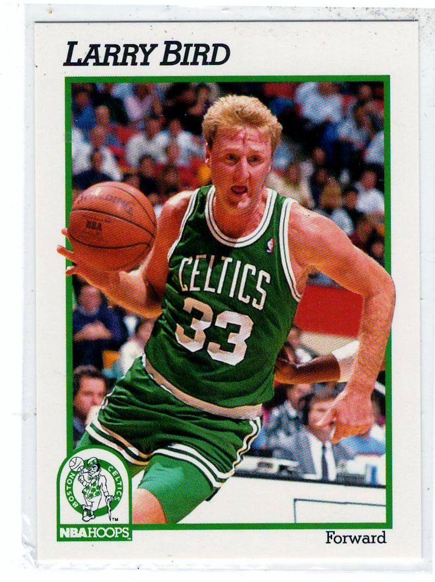 Sports Cards Basketball 1991 NBA Hoops Larry Bird