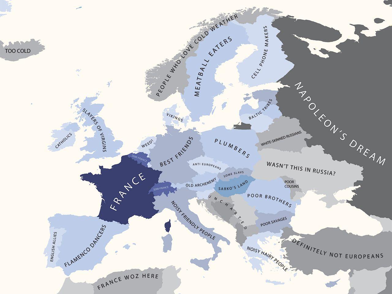 Cartes des strotypes europens cartes des strotypes europens europe france divers carte information gumiabroncs Gallery
