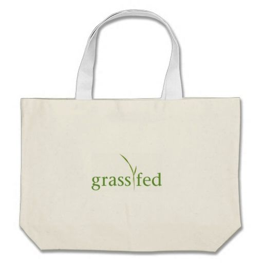 Grass Fed tote