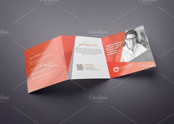 square tri fold brochure multipurpos by cristal pioneer on