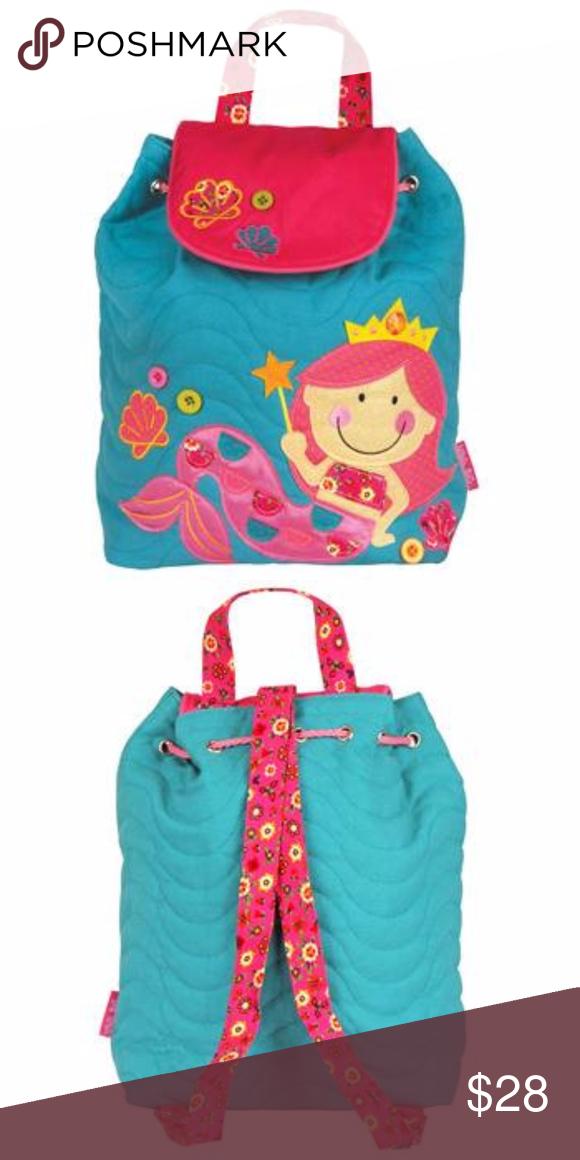 Stephen Joseph Quilted Mermaid Backpack Brand