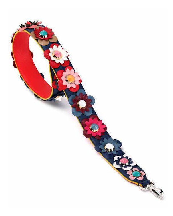 FLOWER PATCH BAG STRAP  453c41aa2c358