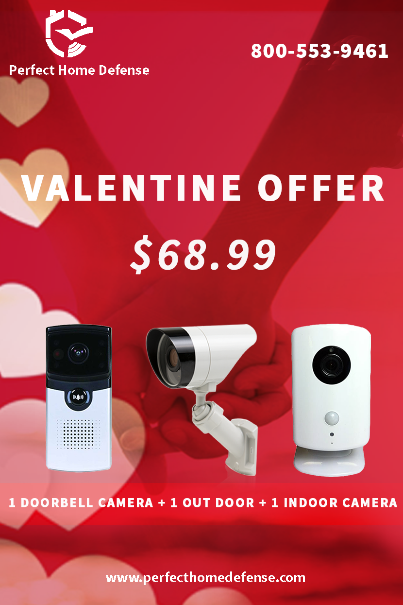 Visit Our Promotion Page To Get The State Of The Art Monitoring Equipmen And Best Valentine Offer Wireless Home Security Home Security Companies Home Automation System Video Surveillance Cameras