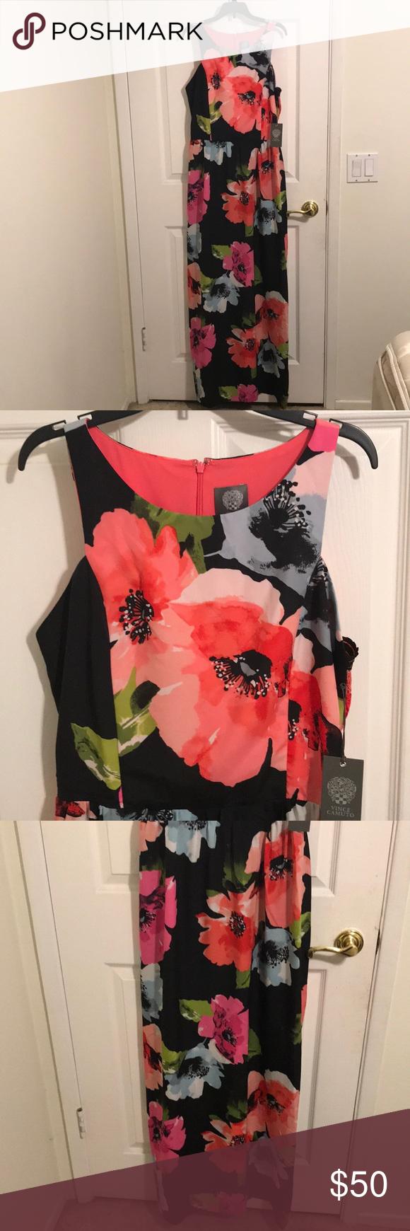 Vince Camuto Printed Maxi Dress Dresses Women Macy S Maxi Dress Printed Maxi Dress Dresses [ 1467 x 1200 Pixel ]