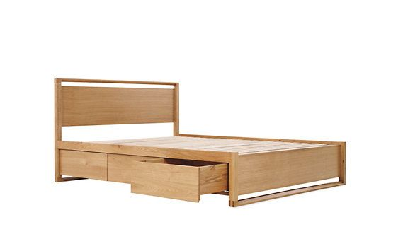 Matera Bed With Storage Bed Storage Bed Frame With Storage Minimalist Bed