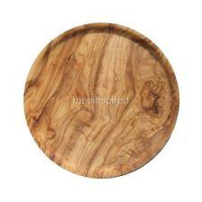 OLIVE WOOD PLATE / DISH FOR SERVING 20cm (OL161)
