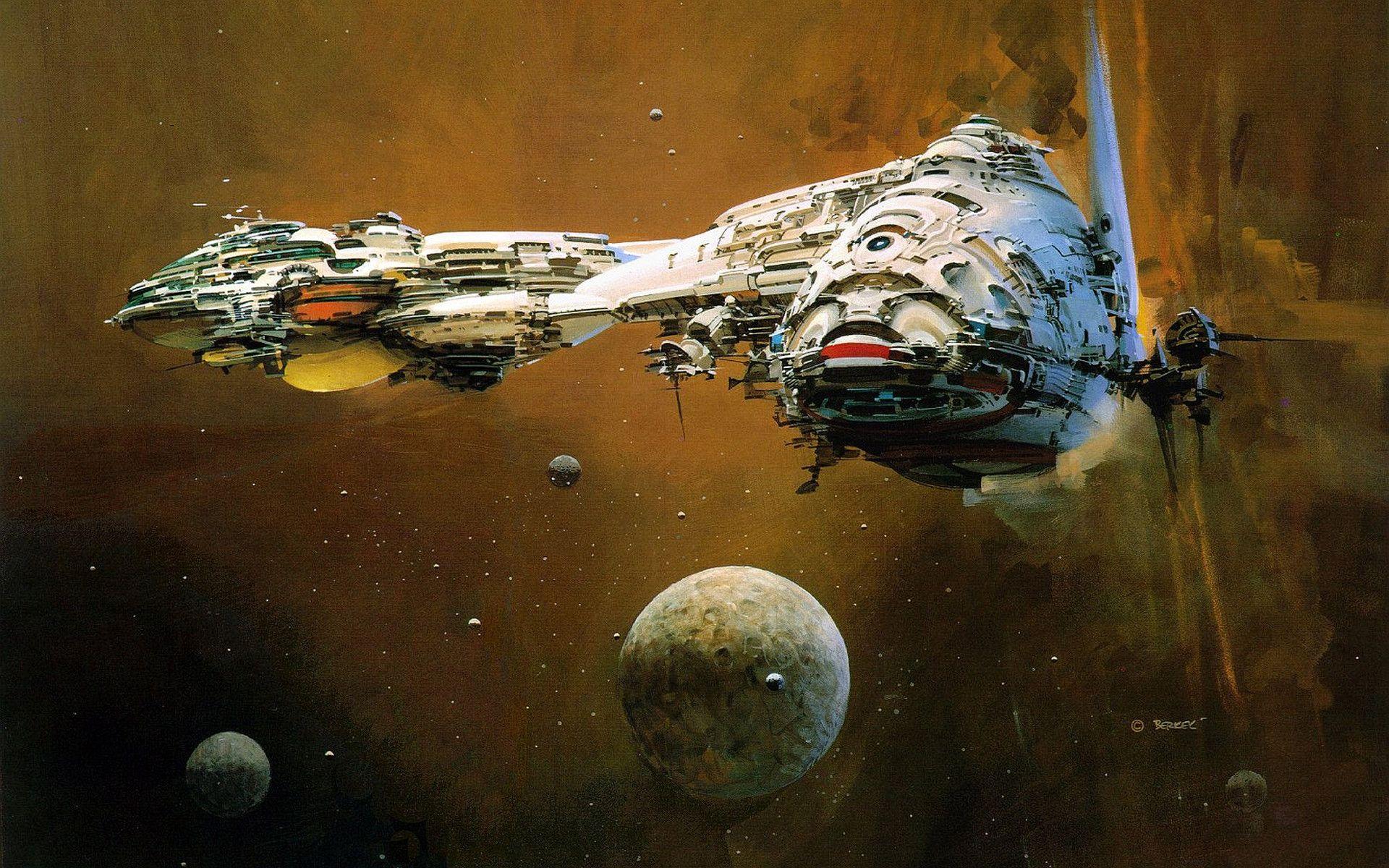 Sci Fi Wallpaper Science Fiction Artwork Space Art Sf Art