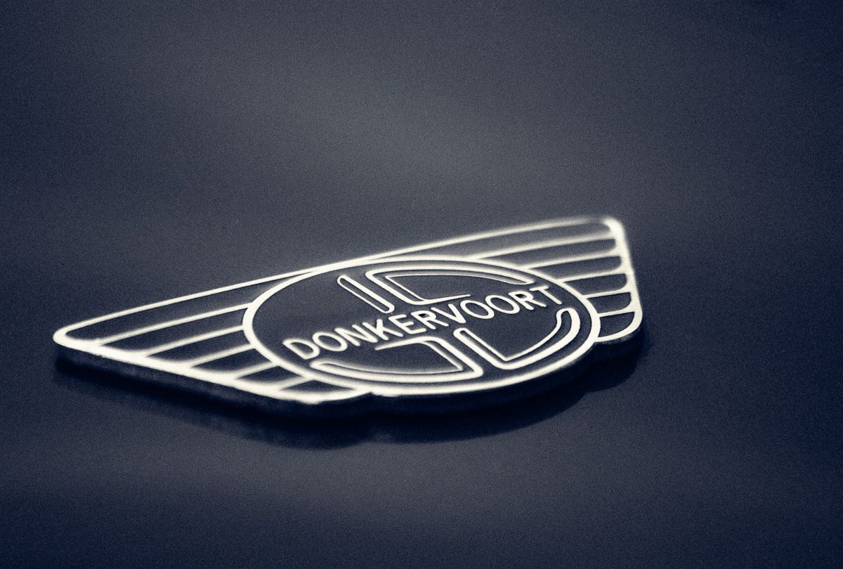 Donkervoort D8 Wide Track Car Logos Hood Ornaments Fast Cars