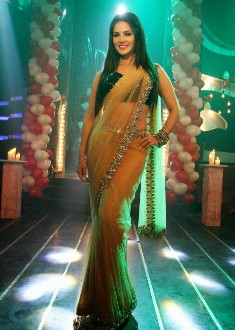Sunny Leone In Saari Stills Pics Wallpaper Sunny Leone Hot Hd
