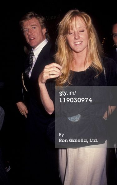 Actor Robert Redford And Daughter Shauna Redford Attend The